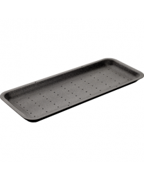 EPS Foam Trays Absorption BLACK EPS TRAY 340x140x15mm