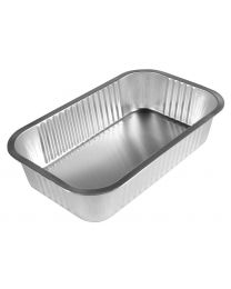Smoothwall Foil Trays 239x167x37mm