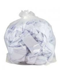 Refuse Sacks Clear Extra Heavy Duty Sacks on Rolls 26x44