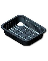 PETPE Meat Trays G-Range R272 -452C Black 150 x 220 x 45mm